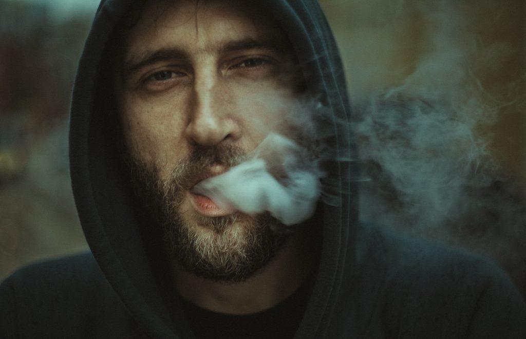 Rückfall eines Rauchers